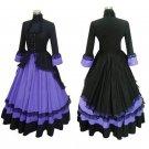 CosplayDiy Women's Renaissance Medieval Lolita Gothic Dress Cosplay Costume