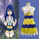 CosplayDiy Women's Dress  Fairy Tail Wendy Marvell Cosplay Costume Outfit