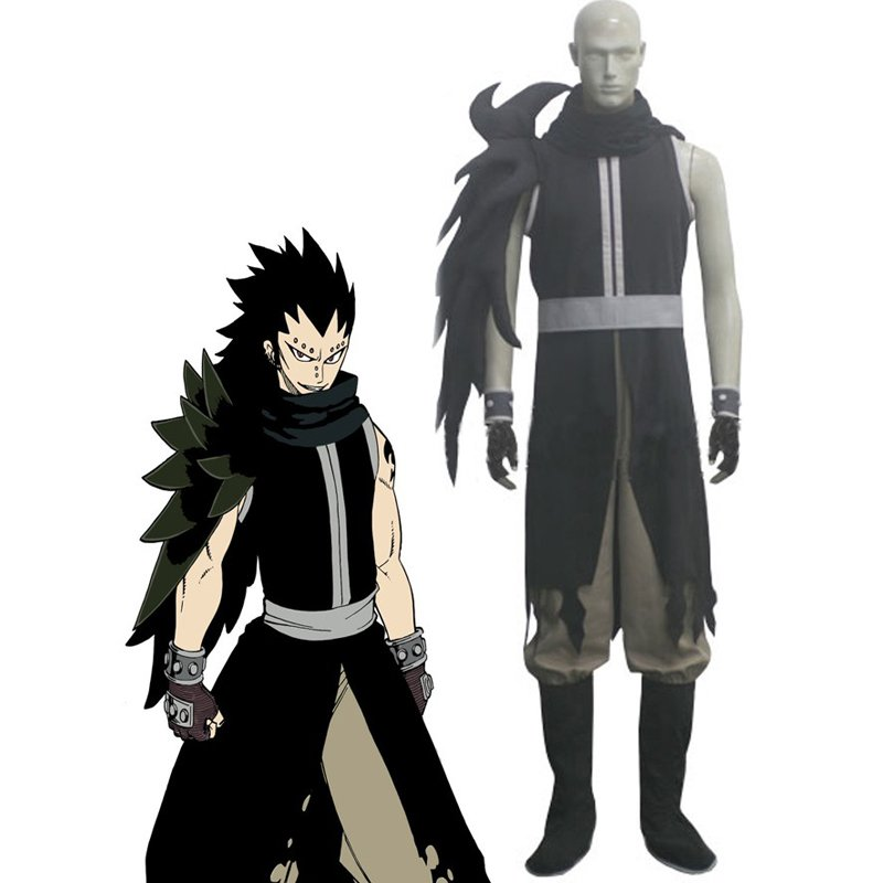 CosplayDiy Men's Outfit Fairy Tail Gajeel Redfox Cosplay Costume For Party