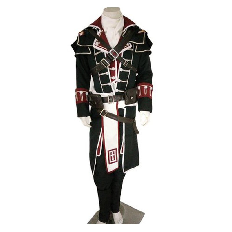 custom made adult men 39 s assassin 39 s creed rogue shay patrick cormac costume outfit. Black Bedroom Furniture Sets. Home Design Ideas