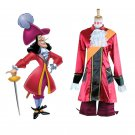 CosplayDiy Prince Costume Peter Pan Captain Hook Cosplay Costume For Christmas Party