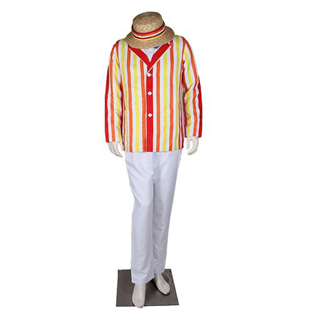 CosplayDiy Prince Outfit  Mary Poppins Bert Jacket Cosplay Costume For Halloween