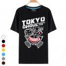 Cosplay Men's Fashion Round Collar T-shirt Tokyo Ghoul Kaneki Ken Costume