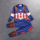 Kid's Captain America Uderwear Sleepwear Costume Cosplay
