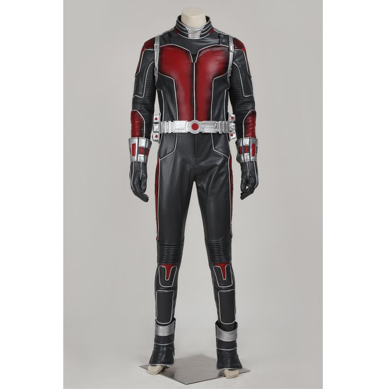 Cosplaydiy Men's Outfit Comics Ant-Man Costume Cosplay For Halloween Party