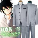 CosplayDiy Men's Outfit Seraph of the End Anime Yuichiro Hyakuya Cosplay Costume
