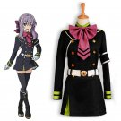CosplayDiy Women's&Girl's Dress Seraph Of The End Hiiragi Shinoa Cosplay Costume For Christmas Party