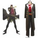 Kujo Jotaro Outfit JoJo's Bizarre Adventure Uniform Cosplay Costume for Carnival Party