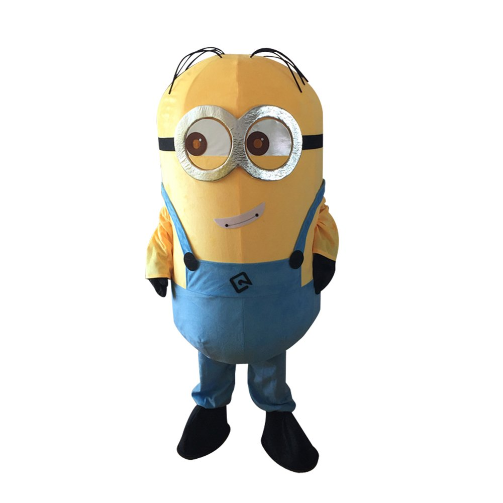 CosplayDiy Unisex Mascot Costume Movie Despicable Me Minion Cosplay For Christmas Party