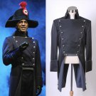 Cosplaydiy Men's Outfit Musical Les Miserables Lewis Javert Costme Cosplay  For Halloween