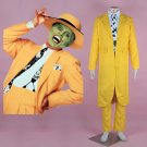 Cosplaydiy Men's Outfit The Mask Stanley Ipkiss Carnival Party  Cosplay For Christmas