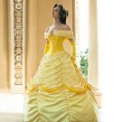CosplayDiy Women's Dress Beauty and the Beast Princess Belle Dress Costume For  Christmas