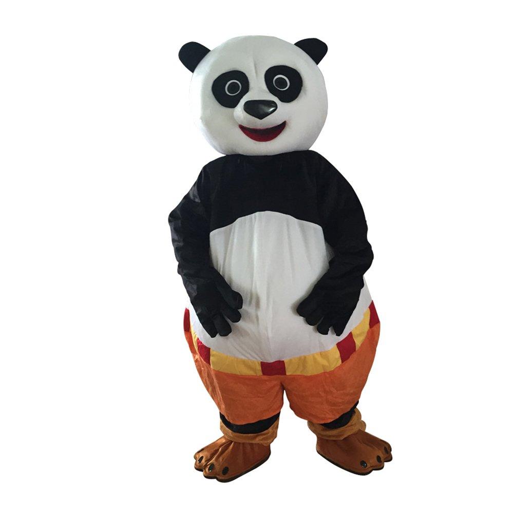 CosplayDiy Unisex Mascot Costume Kung Fu Panda Mascot Costume Cosplay For Celebration Party