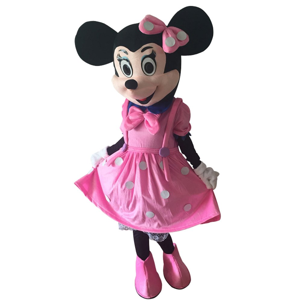 CosplayDiy Unisex Mascot Costume Pink Minnie Mouse Mascot Costume Cosplay For Celebration Activity  sc 1 st  CosplayDiy - eCRATER & CosplayDiy Unisex Mascot Costume Pink Minnie Mouse Mascot Costume ...