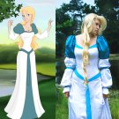 CosplayDiy Women's Dress Odette Swan Princess Dress Cosplay For Party