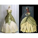 Cosplaydiy Women's Medieval Dress The Princess and the Frog Tiana Princess Dress  Cosplay