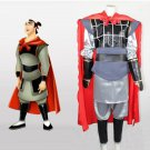 CosplayDiy Men's Costume Hua Mulan Li Shang Costume Outfit Cosplay For Christmas Party