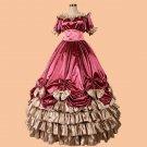 CosplayDiy Women's Dress victorian Gothic Civil War Southern Belle Gown Cosplay Dress