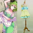 CosplayDiy Women's Dress Vocaloid GUMI Megpoid Costume Cosplay For Christmas Party
