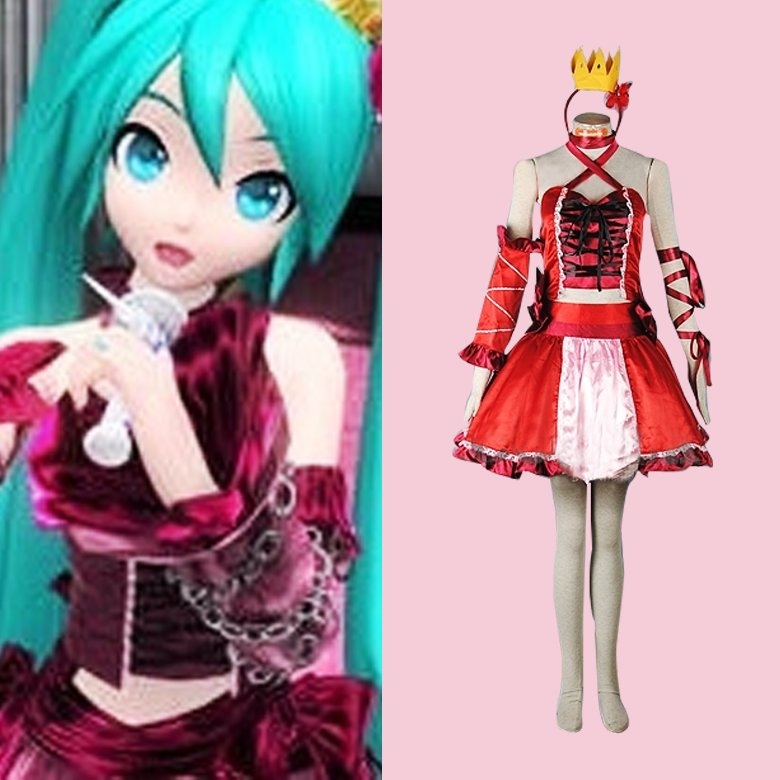 Hatsune Miku Christmas Outfit.Cosplaydiy Women S Girl S Dress Vocaloid Hatsune Miku