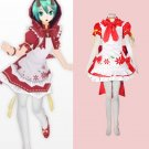 CosplayDiy Women's&Girl's Dress Vocaloid Hatsune Miku Mikuzukin Costume Cosplay For Christmas Party