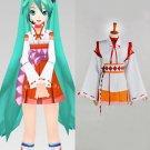 CosplayDiy Women's Dress Vocaloid Hatsune Miku Kimono Costume Anime Cosplay For Christmas Party