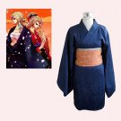 CosplayDiy Women's Dress  Vocaloid Rin Kagamine Kimono Cosplay For Christmas Party