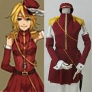 CosplayDiy Women's Dress Vocaloid Rin Kagamine Red  Uniform Cosplay For Christmas Party