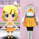 CosplayDiy Women's Dress Vocaloid  Rin Kagamine Uniform Costume Cosplay For Christmas Party