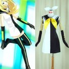 CosplayDiy Women's Dress Vocaloid  Rin Kagamine Black & White Costume Cosplay For Christmas Party