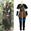 Cosplaydiy Men's Outfit The Hobbit the Desolation of Smaug Elrond Legolas Cosplay Costume