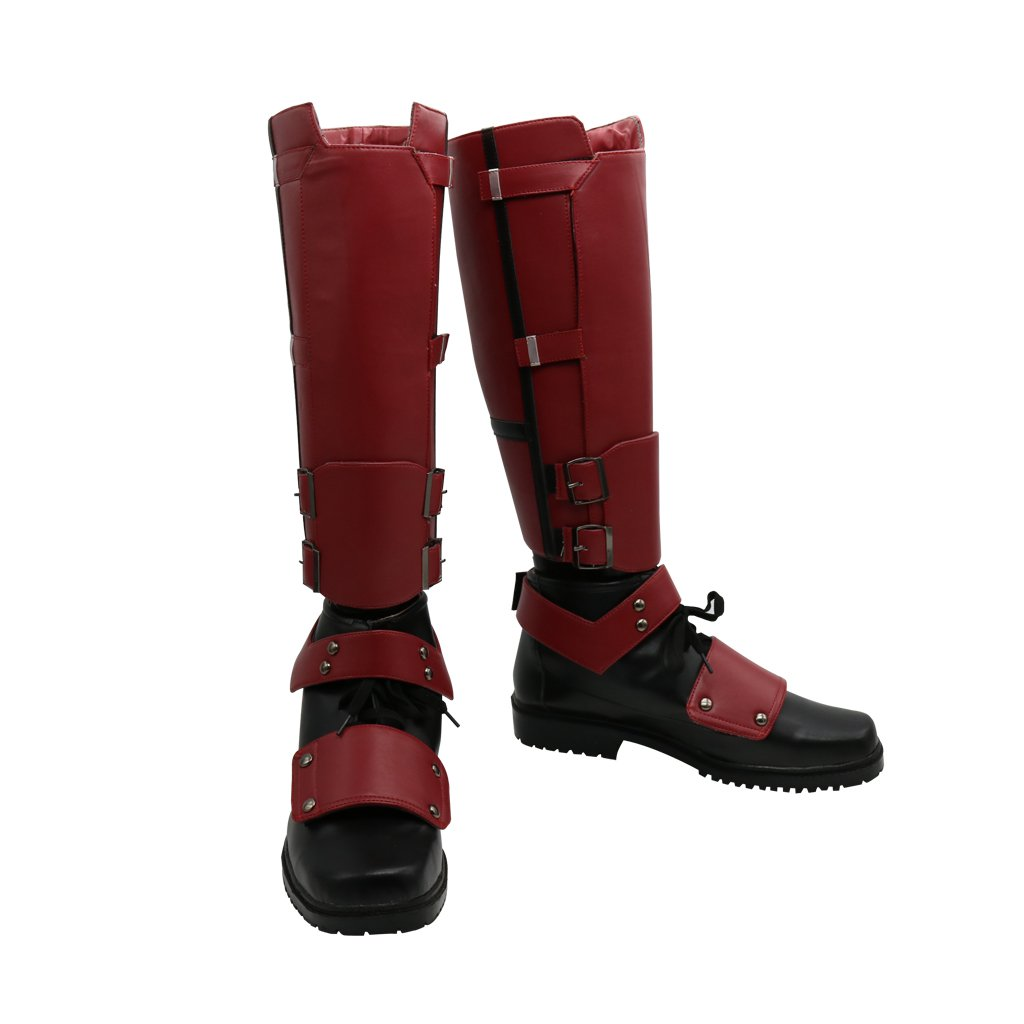 Men S Boots Deadpool Red Boots Shoes For Party Gown
