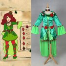 Cosplaydiy Women's Medieval Rococo Costume Batman Poison Ivy Steampunk Cosplay For Christmas Party