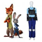 Cosplaydiy Women's Outfit 2016 Movie Zootopia Officer Judy Hopps Cosplay For Christmas Party