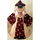 CosplayDiy Women's Wedding Dress Halloween Cosplay Medieval Dress Renaissance Costume