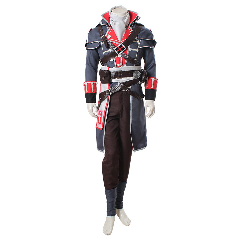 Custom Made Adult Men's Assassin's Creed Rogue Shay Patrick Cormac Halloween Cosplay Costume