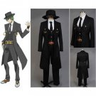CosplayDiy Men's Outfit Blazblue Hazama Costume For Halloween Outfit Cosplay