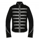 Custom Made Emo Silver Military Parade My Chemical Romance Jacket For Halloween Party