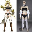 CosplayDiy Women's Outfit Akame ga Kill! Leone Cosplay Costume For Halloween Cosplay