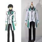 CosplayDiy Men's Outfit The Irregular at Magic High School Shiba Tatsuya Cosplay Costume