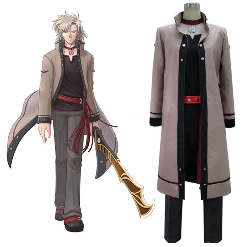 Custom Made The Legend of Heroes VI Levey Leonhardt Cosplay Costume For Halloween Party