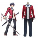 Custom Made The Legend of Heroes: Sen No kiseki Rean Schwarzer Cosplay costume