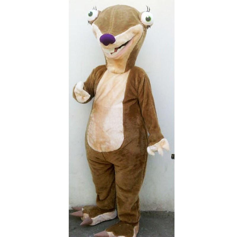 cosplaydiy unisex mascot costume ice age sid the sloth cosplay for christmas party. Black Bedroom Furniture Sets. Home Design Ideas