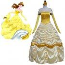 CosplayDiy Women's Dress Beauty and the Beast Belle Dress Cosplay Wedding Dress Costume