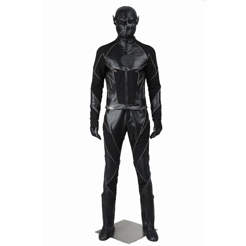 CosplayDiy Men's Outfit The Flash Zoom Hunter Zolomon Costume Cosplay For Halloween Party
