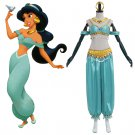 CosplayDiy Women's Dress Aladdin Jasmine Outfit Costume For Party