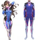 Custom Made Overwatch D.VA Cosplay Costume For Halloween Party