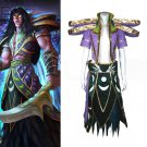 Custom Made World Of Warcraft Night Elf Cosplay Costume For Halloween Party