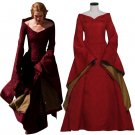 CosplayDiy Women's Game of Thrones Cersei Lannister Red Dress Cosplay For Halloween