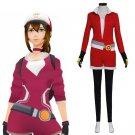 CosplayDiy Women's Pokemon GO Pokemon Pocket Monster Trainer Red Cosplay Costume